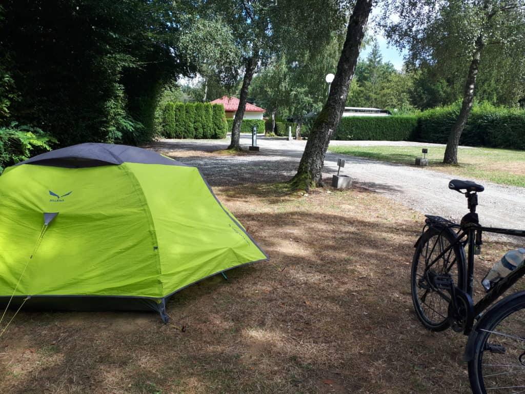 Leere Campingplätze in Frankreich